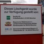 Bayerischer Müllerbund gründet mit der BayWa AG und dem Genossenschaftsverband Bayern Löschverbund zur Silobrandbekämpfung 05